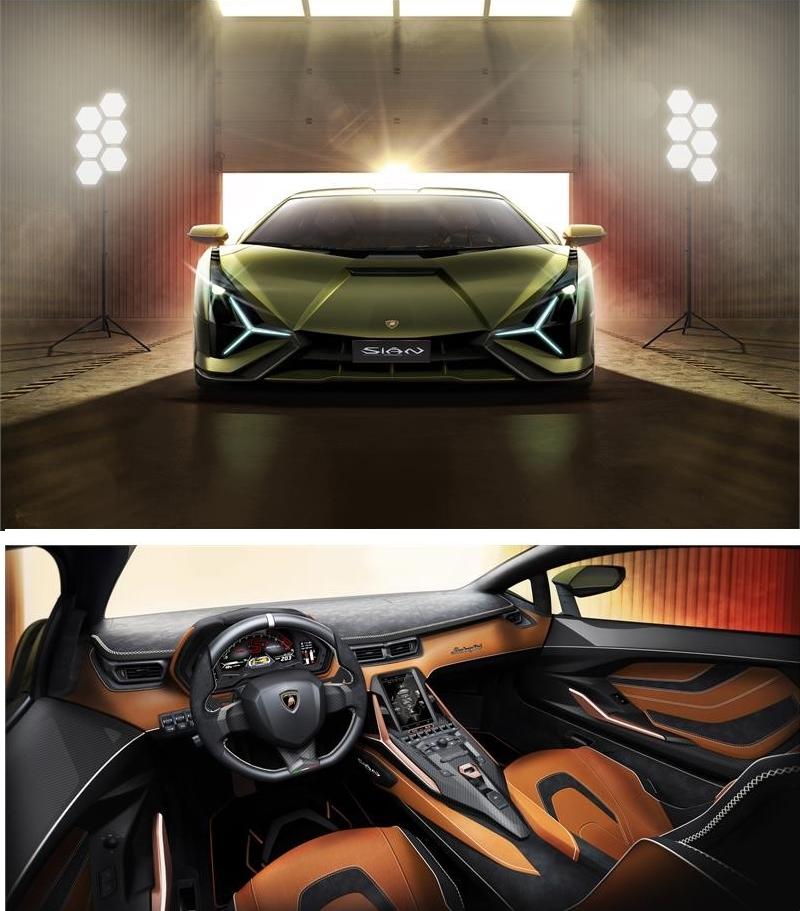 Lamborghini Sián the first step in Lamborghini's route to electrification-