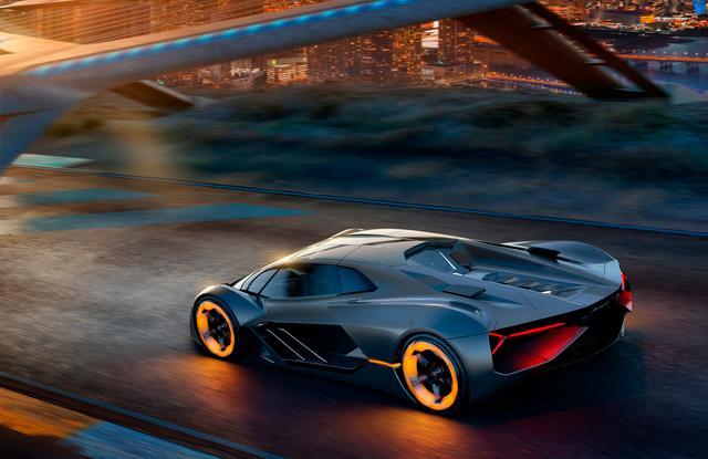 Lamborghini Terzo Millenio Concept Car-