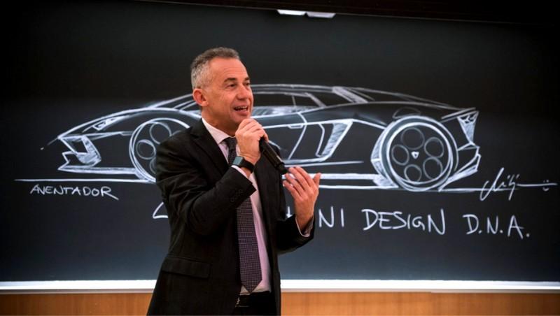 Lamborghini Terzo Millenio Concept Car Presentation-