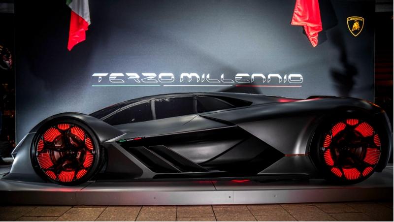 Lamborghini Terzo Millenio Concept Car Presentation MIT