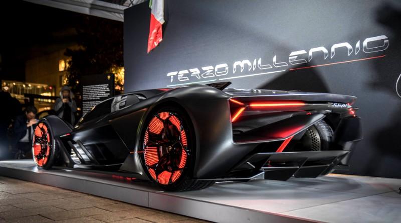 Lamborghini Terzo Millenio Concept Car Presentation MYT