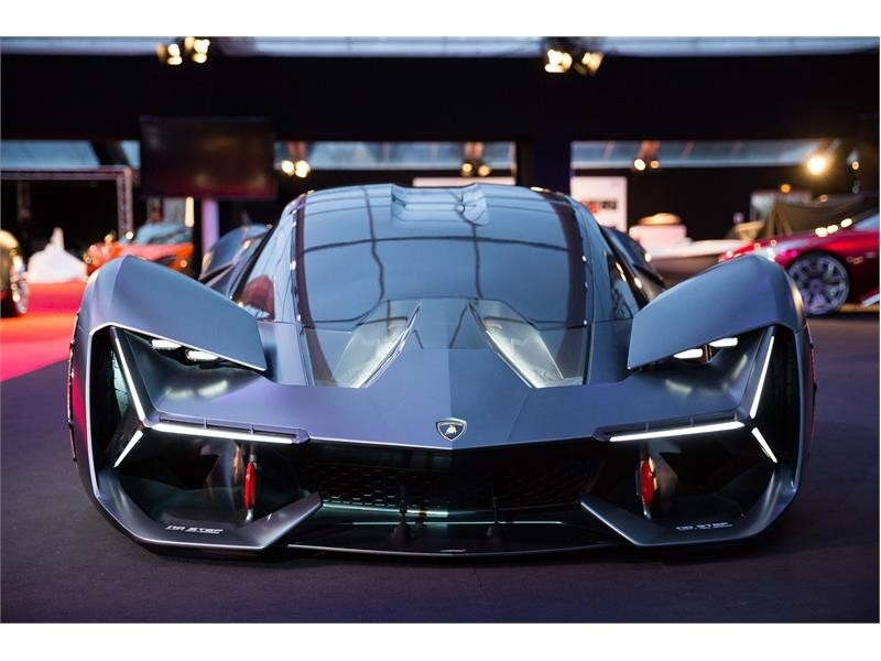 Lamborghini Terzo Millennio at the Festival Automobile International Paris 2018-