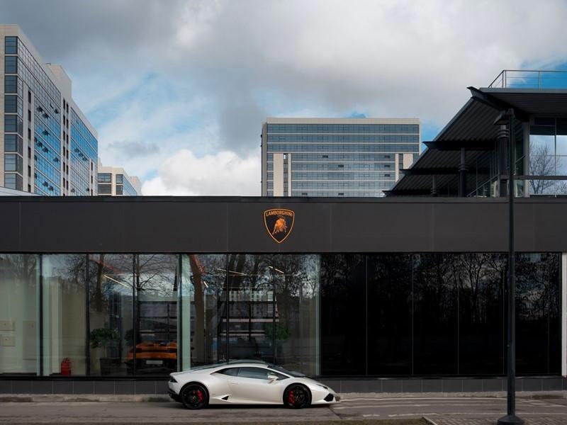 Lamborghini opens first showroom in Saint Petersburg, Russia