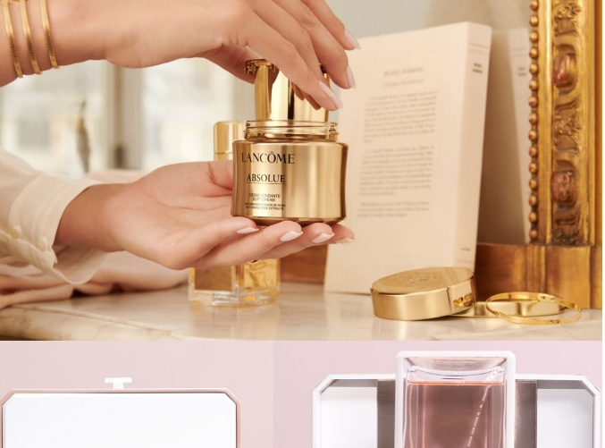 Lancome new flagrship - rechargeable products
