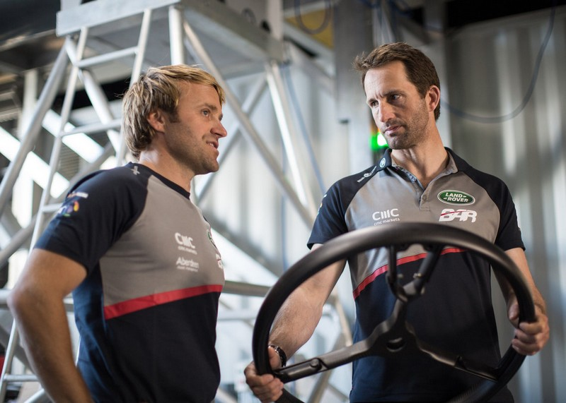 Land Rover BAR steering wheel-