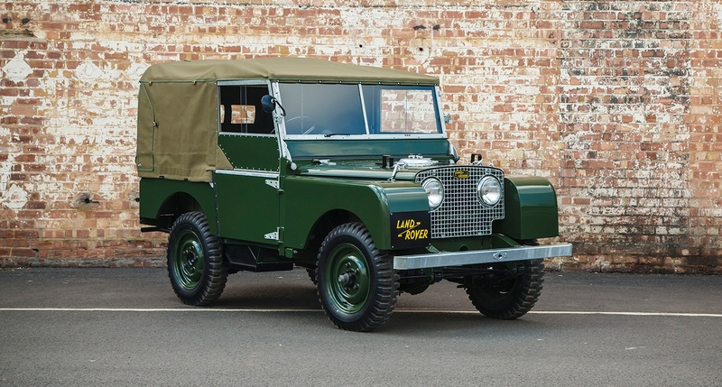Land Rover Series I Reborn 2018