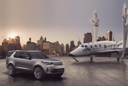 Land Rover x Virgin Galactic to inspire young people to pursue careers in science and technology