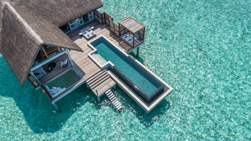 Landaa Giraavaru's new all-pool Water Villas 2019-01