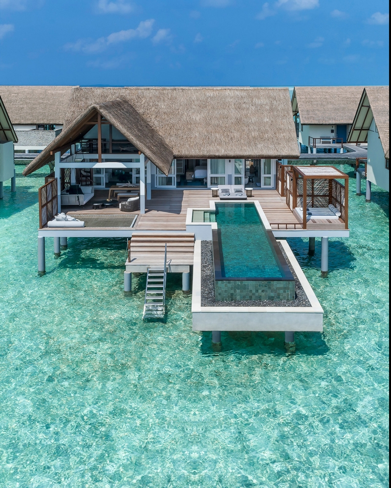 Landaa Giraavaru's new all-pool Water Villas 2019-02