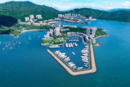 The first luxury marina in Hong Kong in decades is nearing completion