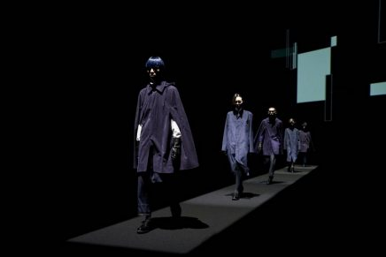 Lanvin x Alcantara Special Capsule Collection with exclusive metallic printed material