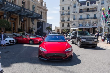 The 'luxury of choice': There are new cool colors in the tuning kit for Tesla Model S by Larte Design