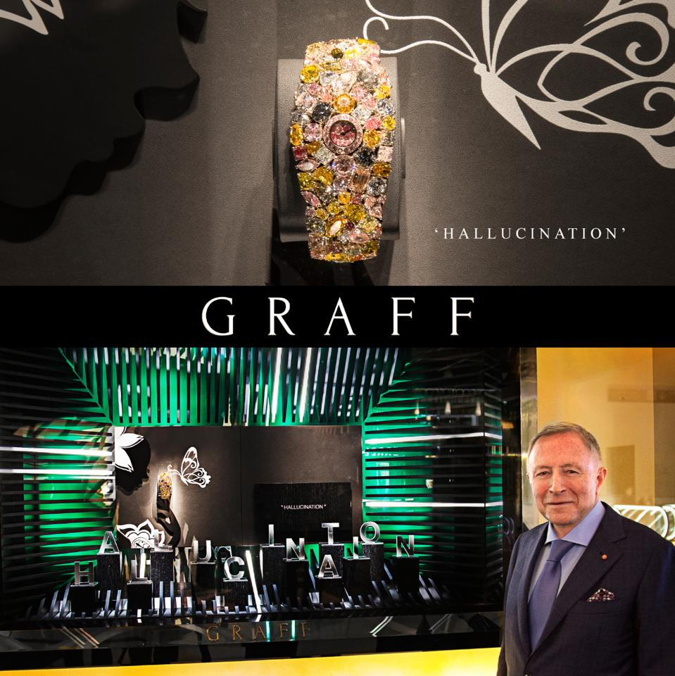 Graff Diamonds 55 Million Dollar Hallucination Watch 2luxury2 Com