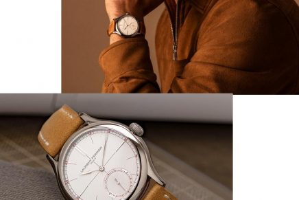 Laurent Ferrier Classic Origin Opaline is designed for those who value sobriety and virtue