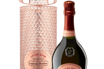 Laurent-Perrier Cuvée Rosé gold lace limited edition