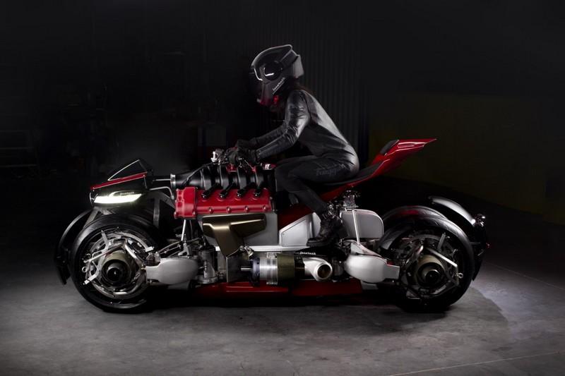 Lazareth's futuristic motorbike transforms into a flying hoverbike-2019