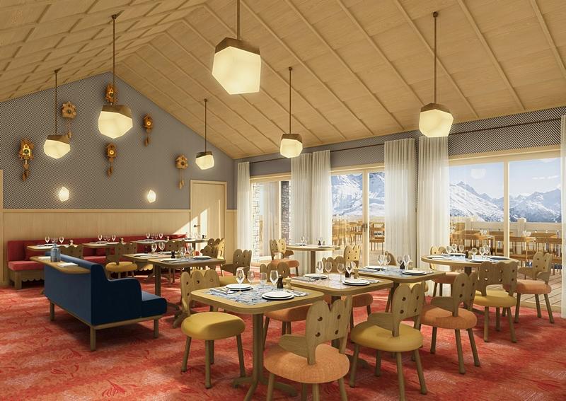 Le Coucou, the finest hideaway in Méribel-2019-restaurants
