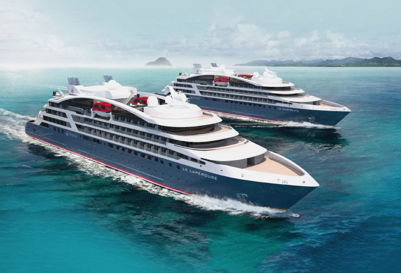 Le Lapérouse and Le Champlain will sail in 2018