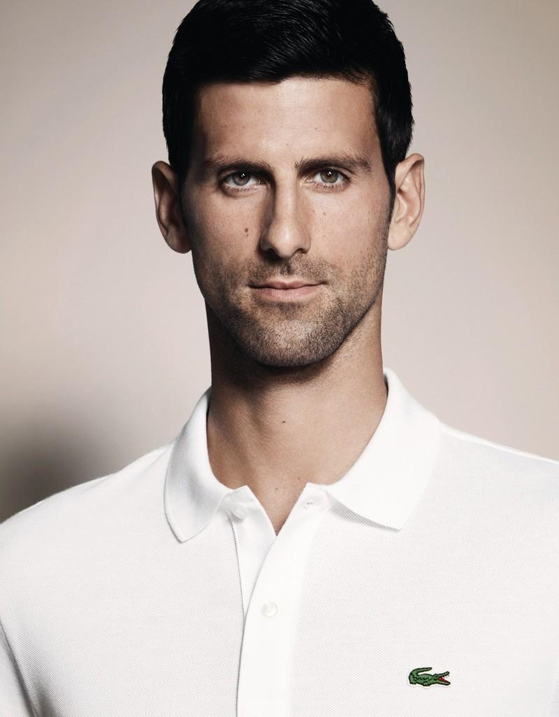 Novak Djokovic Became The Lacoste Style Ambassador