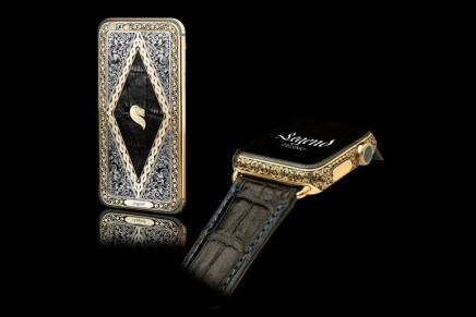 The Legend Apple Watch – First hand-engraved luxury Apple watch