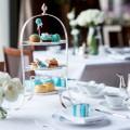 Legendary Tiffany blue inspired a Tiffany Afternoon Tea