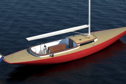 Leonardo Yachts Eagle 37 is designed to be fully sailed with one hand