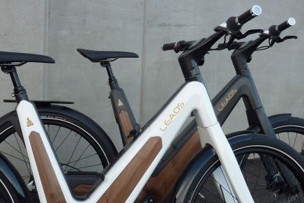 Leaos carbon urban e-bike: The first ever auto recharging E-bike by the sun