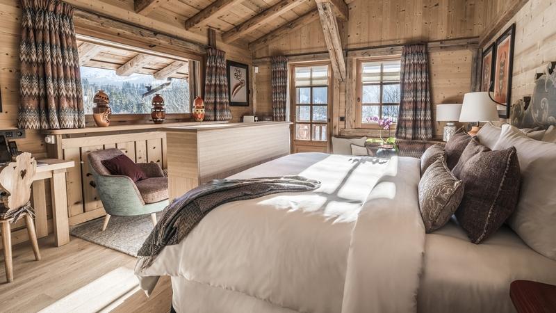 Les Chalets du Mont d'Arbois, Megève, A Four Seasons Hotel-interior