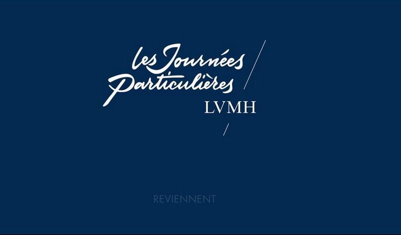 Les Journées Particulières LVMH are back in 2018--
