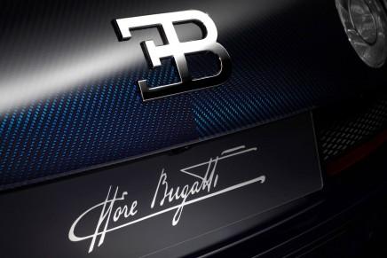 """The Bugatti Legend """"Ettore Bugatti"""" harks back to the Bugatti Type 41 Royale"""