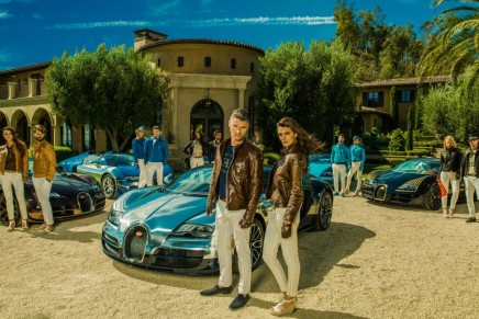 The Lifestyle Collection. Bugatti's first clothing line