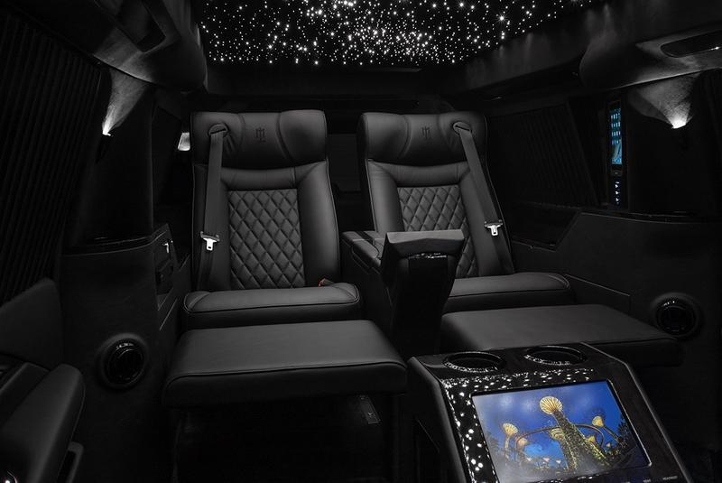 Lexani Motorcars Cadillac Escalade 30 Extended Viceroy Interior Reclining Captain's Chairs