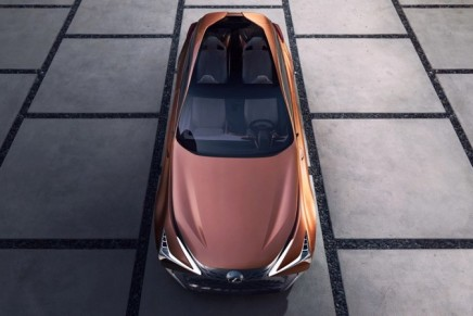 Lexus LF-1 Limitless Concept – a fusion of crossover and luxury sedan