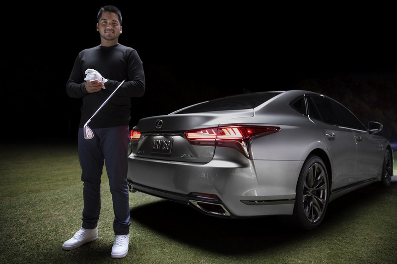 Lexus Golf Ambassador Jason Day and the 2018 Lexus LS