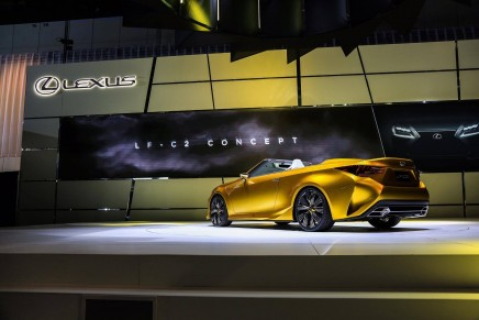 Open Air Luxury GT Concept shows Lexus' devotion to emotional designs