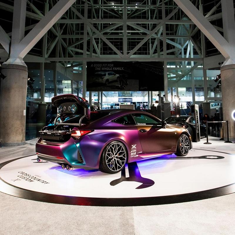 Lexus LexusXCC at la auto show 2018