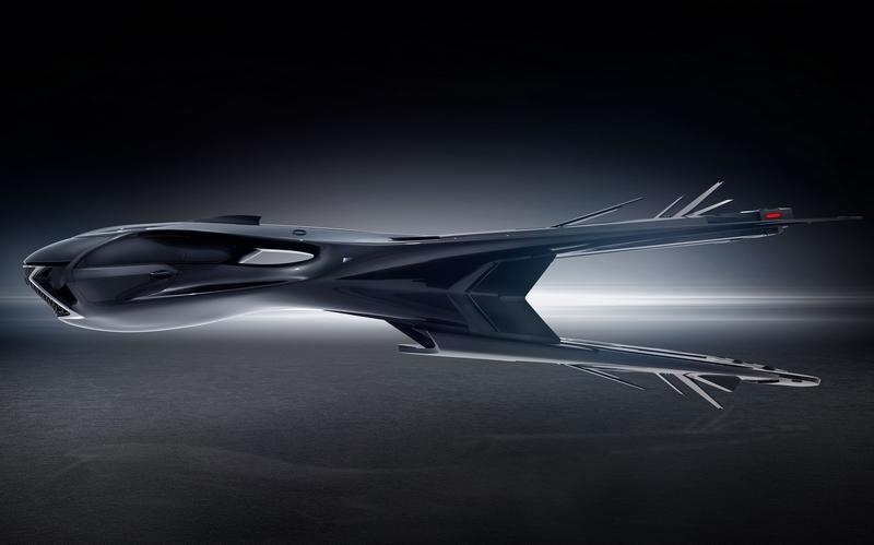 Lexus QZ 618 Galactic Enforcer jet helps save the universe in Men in Black