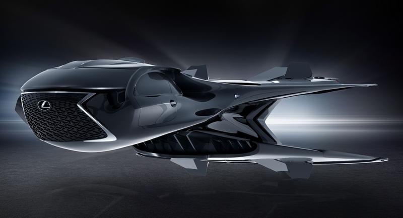 Lexus QZ 618 Galactic Enforcer jet helps save the universe
