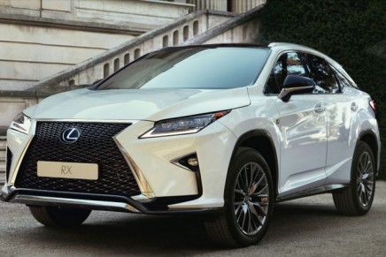 Lexus RX 450h car review – 'It's right on and a status vehicle'