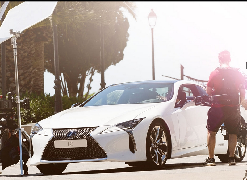 Lexus and Mark Ronson launch the LC at the ultimate driving experience in Ibiza-behind the scenes