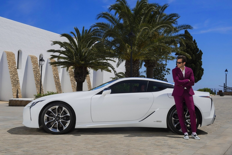 Lexus and Mark Ronson launch the LC at the ultimate driving experience in Ibiza