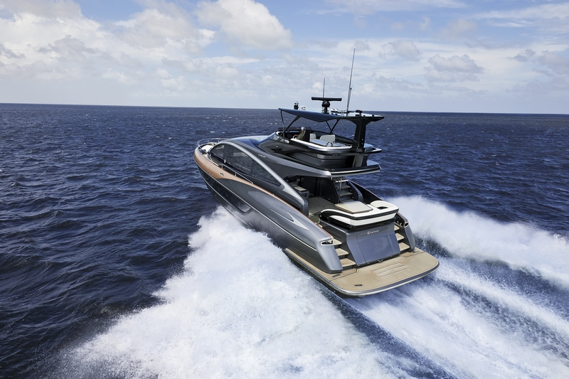 Lexus debuts its first luxury yacht, the Lexus LY 650-