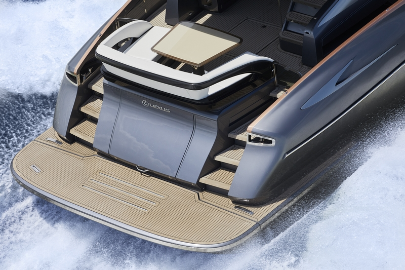 Lexus debuts its first luxury yacht, the Lexus LY 650-02