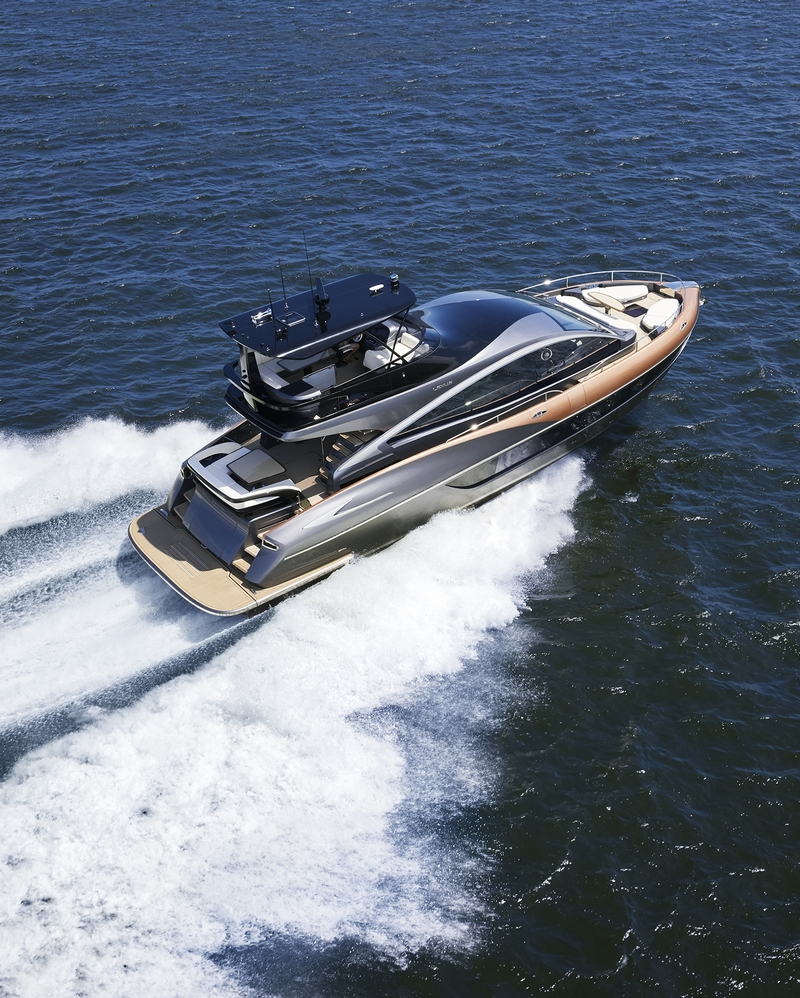 Lexus debuts its first luxury yacht, the Lexus LY 650-04