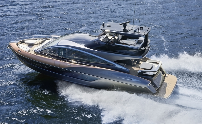 Lexus debuts its first luxury yacht, the Lexus LY 650