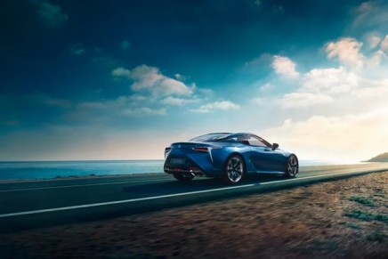 Lexus hybrid sports coupé promises greater enjoyment as well as lower emissions