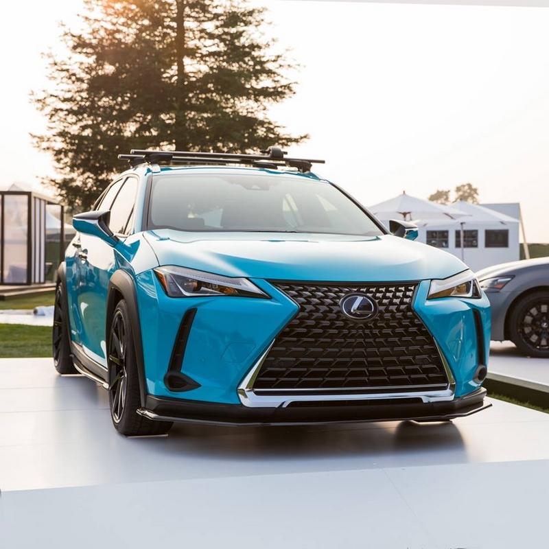 Lexus models at 2018 Pebble Beach
