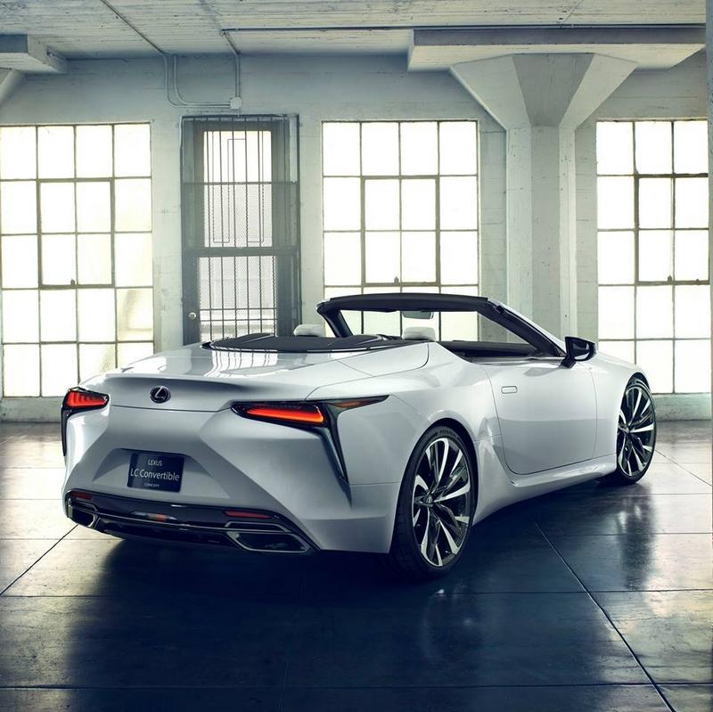 LexusLC Convertible Concept