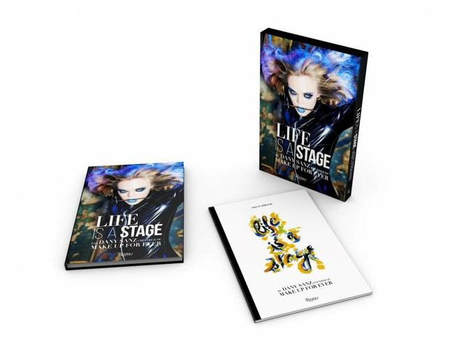 Life is a Stage is the highly anticipated first book by Dany Sanz, founder and Artistic Director of Make Up For Ever-