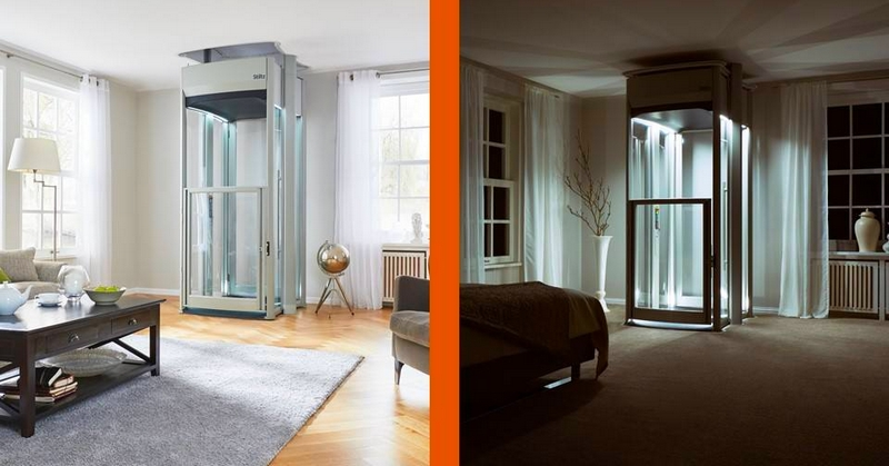Lifton Home Lifts night and day